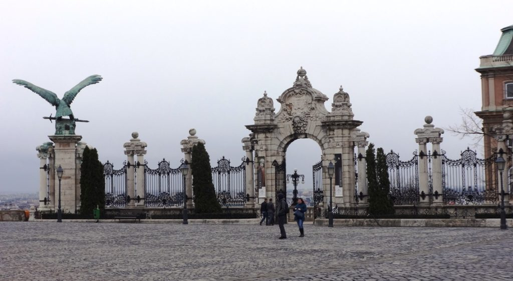 Ferdinand's Gate to Buda Castle. Budapest
