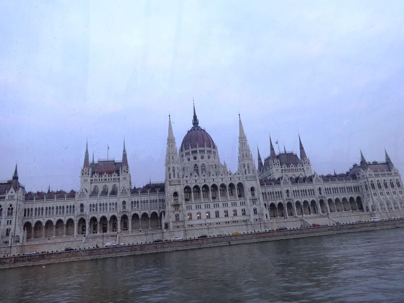 Hungarian Parliament Building, second largest in Europe. Budapest