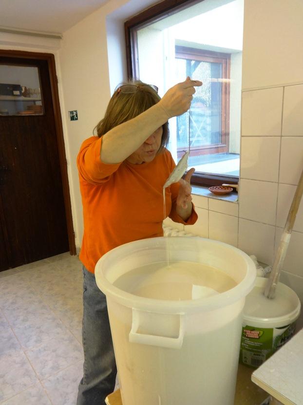 Slovakian pottery maker.
