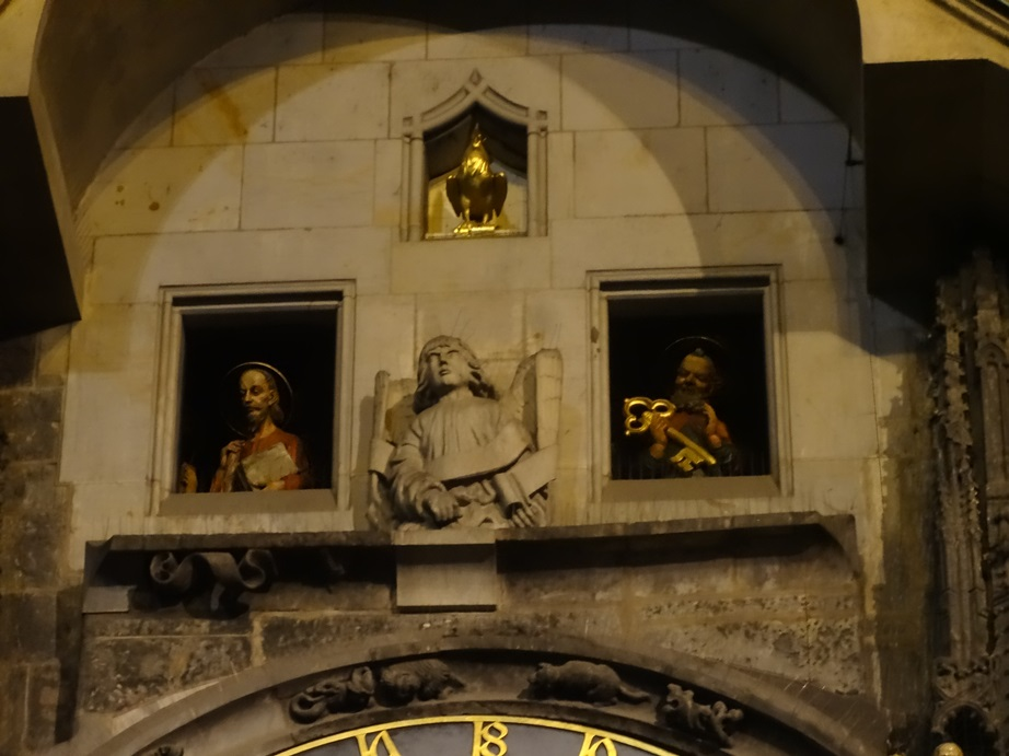 Procession of the Apostles, Chiming the Hour. Astronomical Clock, Prague